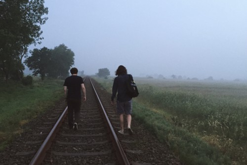 Solche Spaziergänge im Morgengrauen