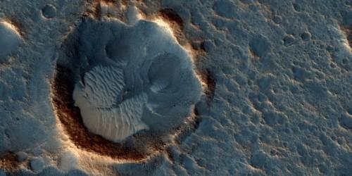 Die Region »Acidalia Planitia« auf dem Mars
